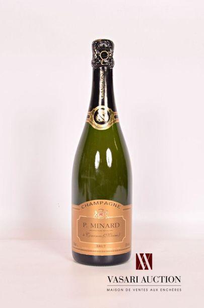 1 bouteilleChampagne P. MINARD Brut NM...