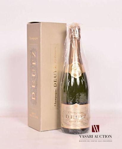 1 bouteilleChampagne DEUTZ Brut1995 Et....