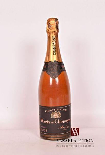 1 bouteilleChampagne WARIS & CHENAYER Brut...