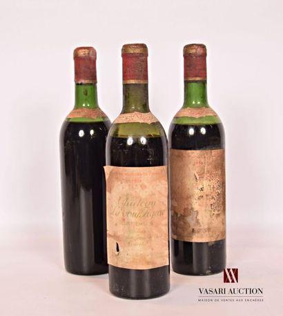 3 bouteillesChâteau LA TOUR FIGEACSt Emilion...