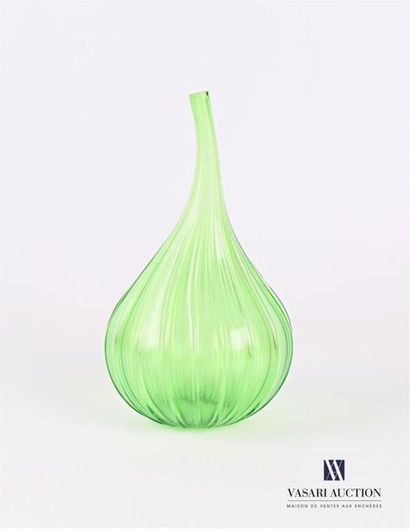 SALVIATI Vase soliflore modèle Drops en verre...