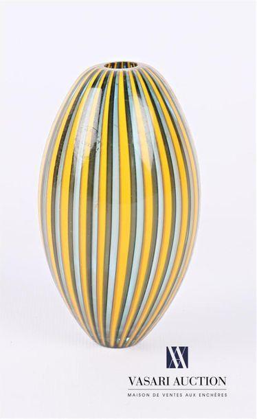 SALVIATI Vase soliflore en verre de forme...