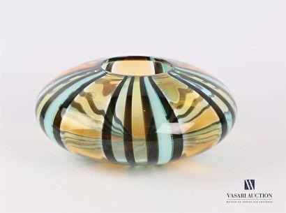 SALVIATI Vase soliflore en verre, la panse...