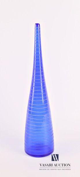 SALVIATI Vase soliflore conique à long col...