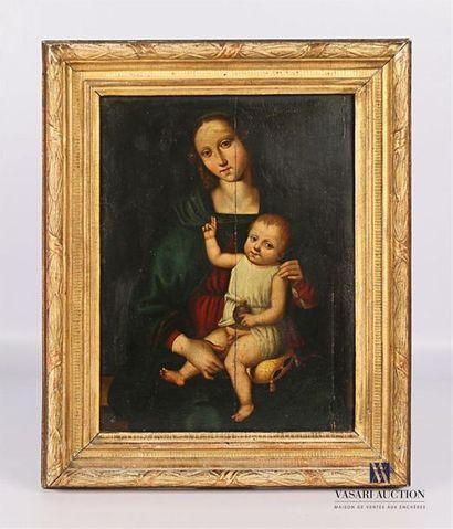 Suiveur du Pérugin (1446-1523) Vierge à l'Enfant...