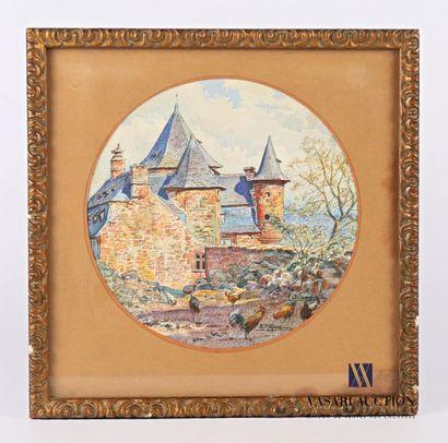 MILLARD Ernest Jean Marie (1872-?) Chateau...