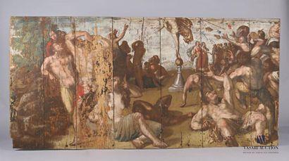 Suiveur de Cornelis van HAARLEM Allégorie...