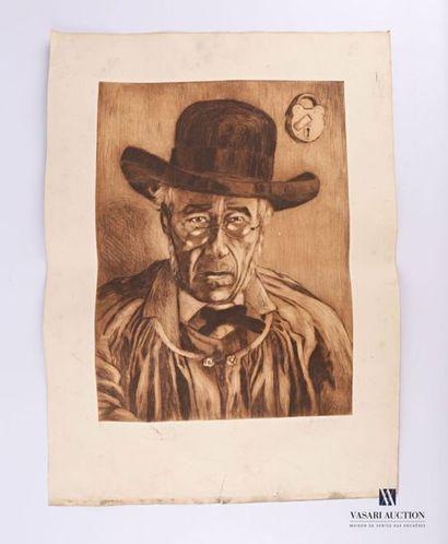 SEVERINI Gino (1883-1966) d'après Paysan...