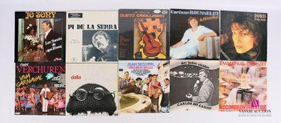 Lot de 20 vinyles : - Josony chante les succès...