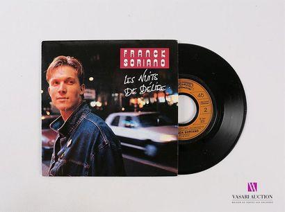 Lot de 20 vinyles : FRANCK SORIANO - Les...