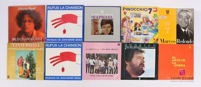 Lot de 20 vinyles : - Marina Rossell Bruixes...