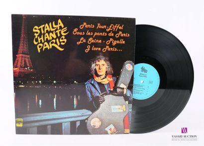 Lot de 20 vinyles : STALLA CHANTE PARIS 1...