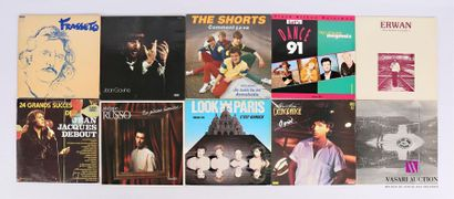 Lot de 20 vinyles : - Frasseto Télémaque...