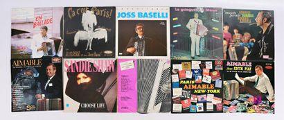 Lot de 20 vinyles : - Jean Pierre Marie son...