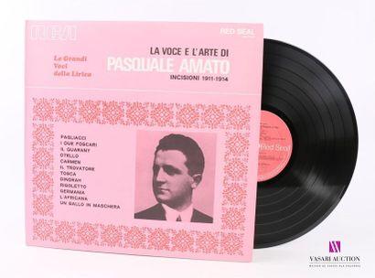 Lot de 20 vinyles : LA VOCE E L'ARTE DI PASQUALE...