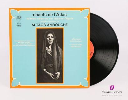 Lot de 20 vinyles : TAOS AMROUCHE - Chants...