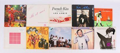 Lot de 17 vinyles : - Peter Jacques band...