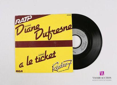 Lot de 20 vinyles : DIANE DUFRESNE - A le...