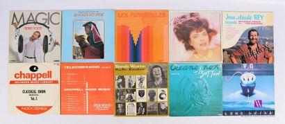 Lot de 20 vinyles : - Pierre Porte Magic...