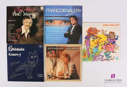 Lot de 20 vinyles : - PAUL MAURIAT - Le grand...