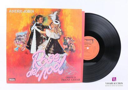 Lot de 20 vinyles : ANDRE JOBIN - Rose de...