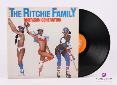 Lot de 20 vinyles : THE RITCHIE FAMILY -...