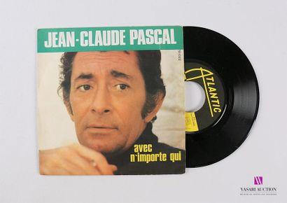 Lot de 20 vinyles : JEAN CLAUDE PASCAL -...