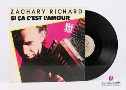 Lot de 20 vinyles : ZACHARY RICHARD - Si...