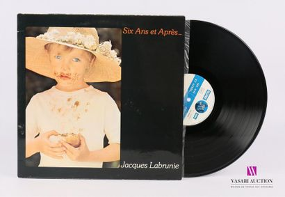 Lot de 20 vinyles : LABRUNIE Jacques - Six...