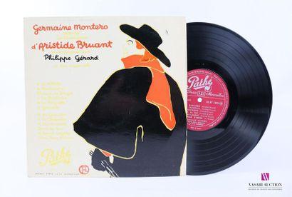 Lot de 20 vinyles : GERMAINE MONTERO Chante...