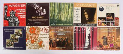 Lot de 20 vinyles : - Wagner Anthologie orchestrale...