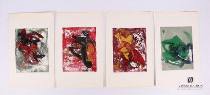 BYGODT Bernard (1939-2004) Ensemble de douze...