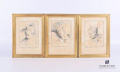 WATTTEAU Antoine (1684 - 1721) (dessinateur)...