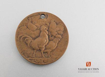 Médaille de la Société d'horticulture de...