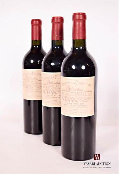 3 bouteillesChâteau LA COUSPAUDESt Emilion...