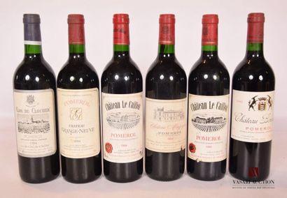 Lot de 6 bouteilles comprenant : 1 bouteilleCLOS...