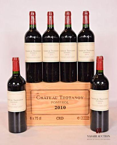 *6 bouteillesChâteau TROTANOYPomerol2010...