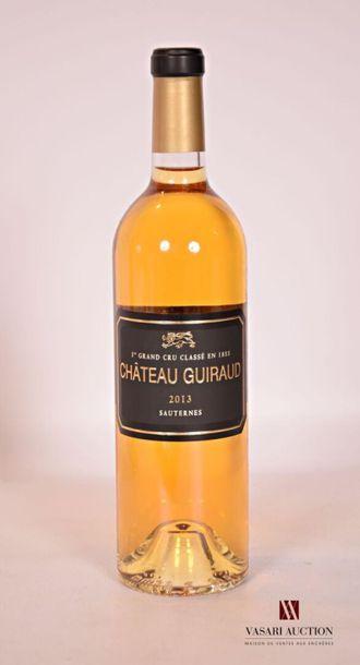 *1 bouteilleChâteau GUIRAUDSauternes 1er...