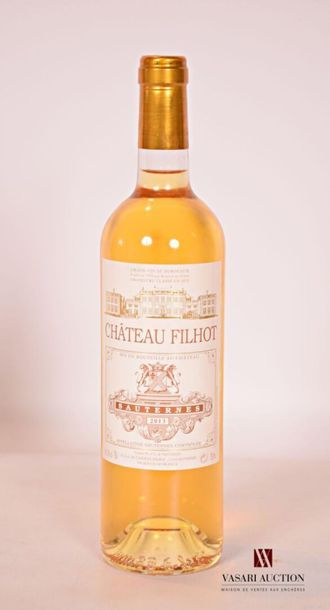 *1 bouteilleChâteau FILHOTSauternes GCC2013...