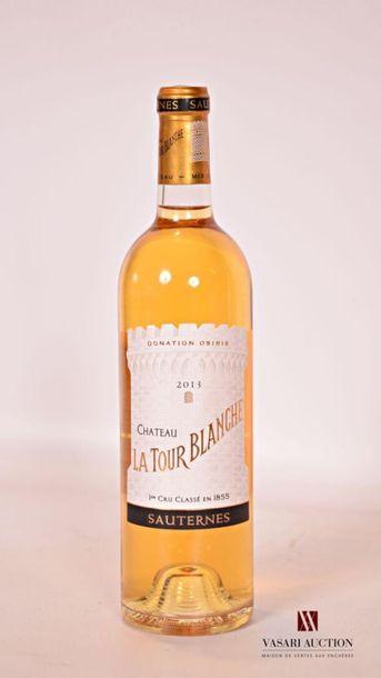 *1 bouteilleChâteau LA TOUR BLANCHESauternes...