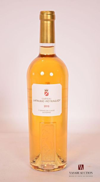 *1 bouteilleChâteau LAFAURIE PEYRAGUEYSauternes...