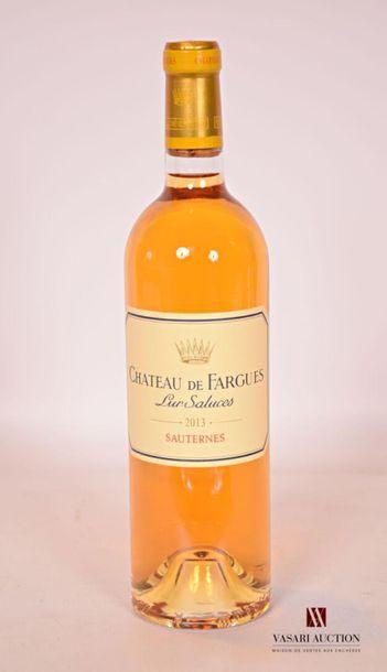 *1 bouteilleChâteau DE FARGUESSauternes2013...