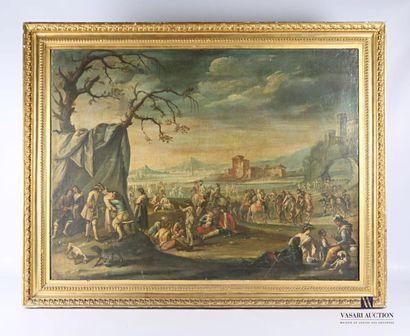 ZAIS Giuseppe (1709-1784), attribué à  Scène...