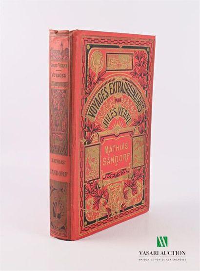 VERNE Jules - Mathias Sandorf - Paris Hachette...