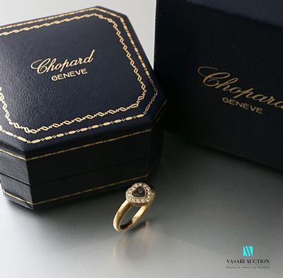 Chopard, happy diamonds, bague en or jaune...