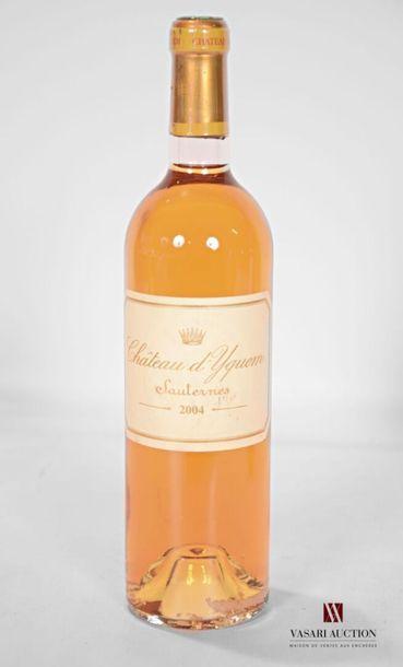1 bouteilleCH. D' YQUEM1er Cru Sup Sauternes2004...