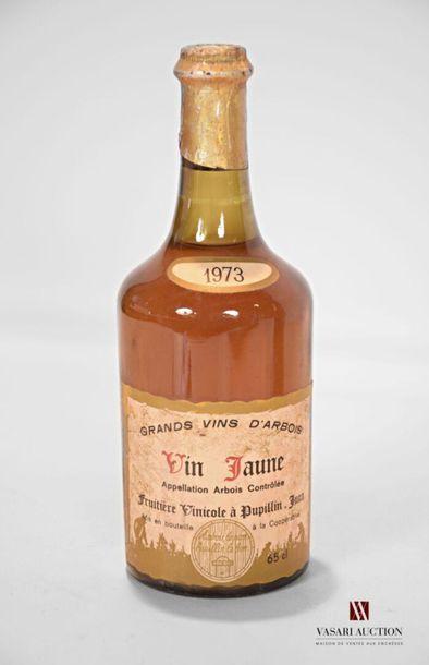 1 bouteilleARBOIS Vin Jaune mise Fruitière...
