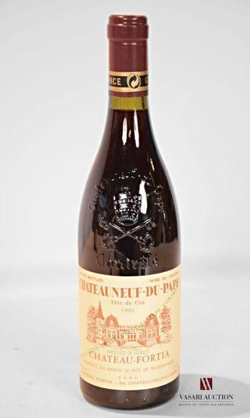 1 bouteilleCHATEAUNEUF DU PAPE mise Château...