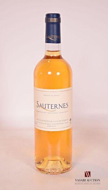 1 bouteilleSAUTERNES mise du Château d'YquemNM...