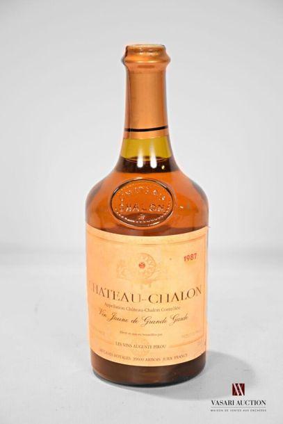 1 bouteilleCHÂTEAU CHALON mise A.Pirou1987...